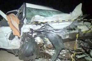 Ubaporanga: acidente envolve 4 carros e mata duas pessoas na 116