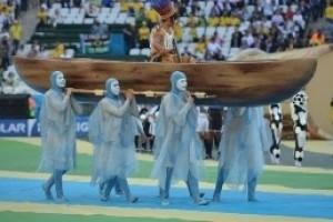 Copa do Mundo: abertura focaliza principais aspectos do Brasil