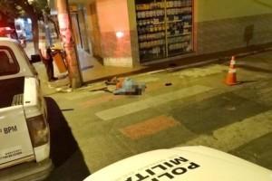 Muriaé: homem é encontrado morto na faixa de pedestre. Assassinato