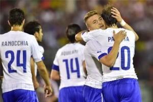 Copa do Mundo: Itália vence o Fluminense em jogo treino: 5 a 3