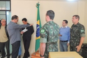 Martins Soares: inaugurada Junto de Serviço Militar no Município
