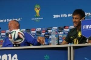 Copa do Mundo: Felipão e Neymar confiantes