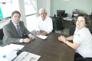 Manhuaçu: OAB se reúne com provedor do HCL. Tema: Seminário de Saúde