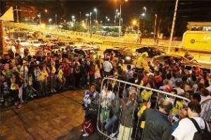 Copa do Mundo: Seleção Brasileira é recebida em BH
