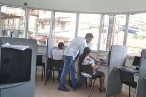 Manhuaçu: Telecentro comunitário oferece cursos gratuitos à comunidade