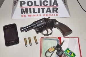PM apreende armas em Abre Campo, Manhumirim e Manhuaçu