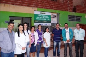 Luisburgo: Centro de Saúde está sendo ampliado