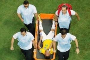 Copa do Mundo: violência tira Neymar do mundial