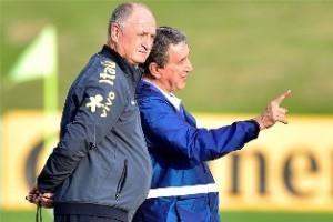 Copa do Mundo: Felipão começa treinos da seleção para as quartas