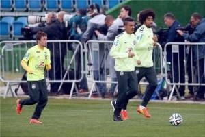 Copa do Mundo: Seleção Brasileira volta a treinar em Teresópolis