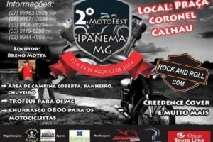 Ipanema: Motofest será nos dias 22 a 24 de agosto