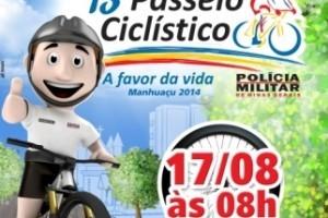 Manhuaçu: 13º Passeio Ciclístico espera público recorde neste domingo