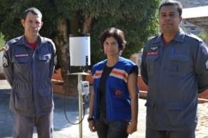 Manhuaçu: Defesa Civil recebe equipamentos do Governo Federal. Já instalado na cidade