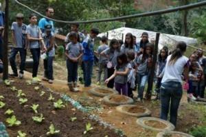 Ipatinga: Alunos da Escola Estadual Dr. Eloy Werner visitam Projeto Xerimbabo