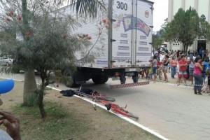 Ipanema: homem morre atropelado no centro. Estava de bicicleta