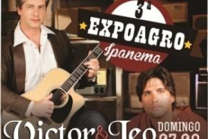 Ipanema: Victor e Léo cantam domingo na Expoagro. Festa começa nesta sexta-feira