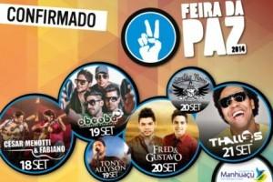 Manhuaçu: Prefeitura confirma programação da 37ª Feira da Paz