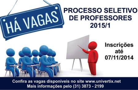 Processo Seletivo Univértix