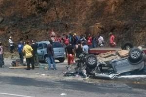 Matipó: Acidente fatal na BR 262. Um pessoa morta e mais 3 feridos