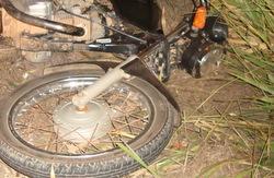 acidente - moto - durande - fatal