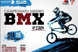 Manhuaçu: Cidade sedia 4ª etapa do Campeonato Mineiro de Bicicross, dia 19/10
