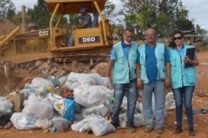 Manhuaçu: Vigilância Sanitária inutiliza mercadorias apreendidas no comércio