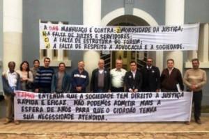 Lajinha: OAB reúne lideranças da cidade e região para cobrar nomeação de juiz