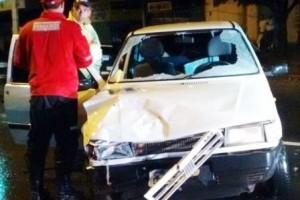 Caratinga: Jovem fica gravemente ferido em acidente na BR-116