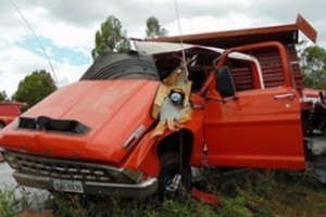 Divino: Acidente envolve carreta e caminhão na 116. Uma pessoa morta