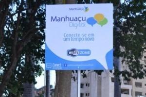 5 de novembro: Prefeitura lança projeto Manhuaçu Digital. Internet gratuita em vários pontos da cidade