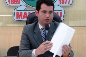 """Manhuaçu: Presidente da Câmara de Vereadores pede melhoria no trânsito. """"Caos"""", afirma Maurício Jr."""