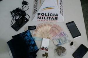 Manhuaçu: Denúncia leva a PM a dois suspeitos de tráfico de drogas na Baixada