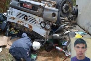 Muriaé: Jovem morre em acidente envolvendo dois caminhões da Pif Paf