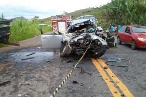 Espera Feliz: Ex- vereador morre em acidente na BR 482. Acidente pode ter sido causado por motorista embriagado
