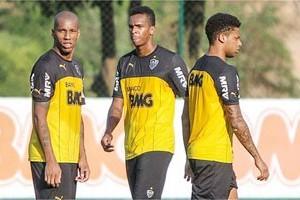 Atlético: Jô, André e Emerson Conceição, situações indefinidas