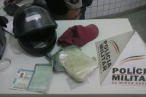 Manhuaçu: PM apreende drogas no Bom Pastor. Um quilo de crack