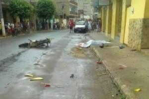 Inhapim: Rapaz de 24 anos morre em grave acidente no centro da cidade