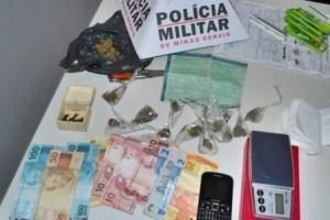 Carangola: Seis pessoas detidas, drogas e dinheiro apreendidos