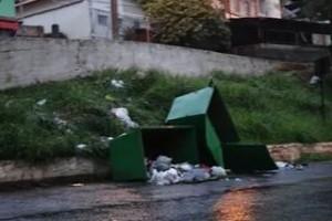 Manhuaçu: Contêineres do Samal são alvos de atos de vandalismo