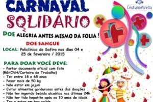 Muriaé: Hospital do Câncer realiza campanha de doação de sangue no carnaval