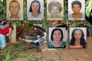 Belo Oriente: Seis pessoas morrem após atropelamento. Cinco ficam feridas