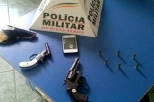 Manhuaçu: Polícia apreende armas e munições no Bairro São Francisco de Assis
