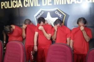 Belo Horizonte: Polícia Civil prende quadrilha especializada em roubos de carga. Agia na região de Manhuaçu