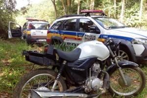 Manhuaçu: PM recupera várias motocicletas furtadas. 5 veículos encontrados