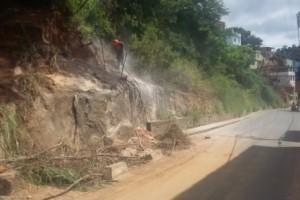 Manhuaçu: Secretaria de Obras realiza intervenção em trecho do Bairro Lajinha