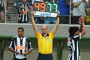 Atlético: Serginho defenderá o Vasco