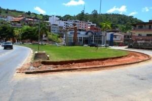 Manhuaçu: trevo do cafeicultor começa a ser readaptado