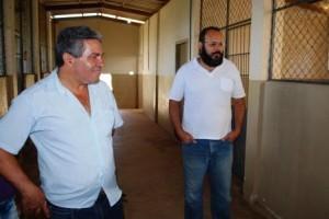 Manhuaçu: Presidente da Câmara de Vereadores visita canil e faz elogios