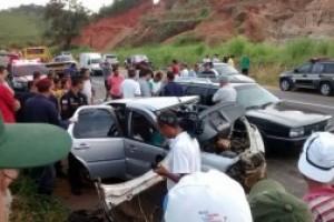 Ubaporanga: Duas mortes na BR 116. Voltavam de festa de carnaval