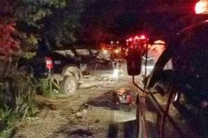 Abre Campo: Três pessoas de Rio Casca morrem em acidente na BR 262. Pai e duas filhas